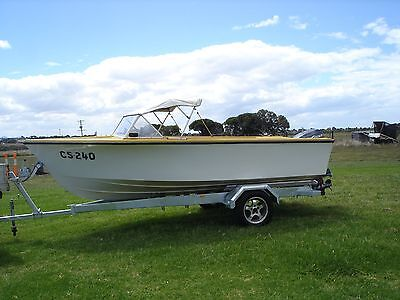 Runabout Boat 4.8M with Trailer