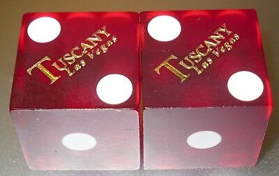 The Tuscany Hotel and Casino - Las Vegas - Playing Dice - Red