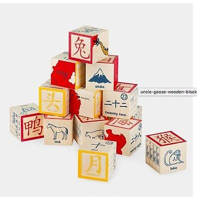 Uncle Goose Chinese Character Blocks MOMA Design Store