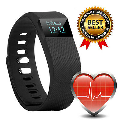 Smart Heart Rate Watch Activity Fitness Tracker Fit Band