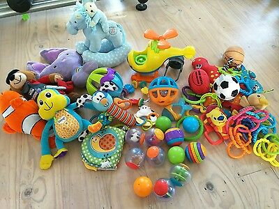 baby toys bulk balls teethers shake rattle squeeze