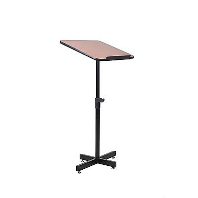 Pyle Compact & Portable Lectern Podium | Speech & Presentation Stand | Adjust...