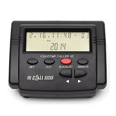 E-CALL Telephone Call Blocker, Blocking All Private Calls Without Call ID,