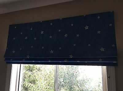 Two Roman blinds