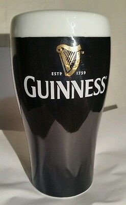 """LOOK"" Guiness pint pot money box. Official mechandise. Life size. VGC"