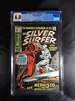 Silver Surfer #16 CGC 6.0 - New, upgraded CGC case!