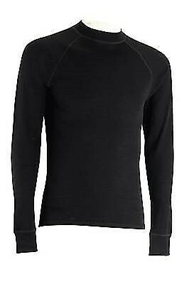 Womens Trek Mates Black Short Sleeved Merino Thermal Active Base Layer Size 16