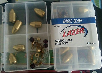Eagle Claw Eaker Shaker 15 Piece Assortment L627K Lot Of 5 packages