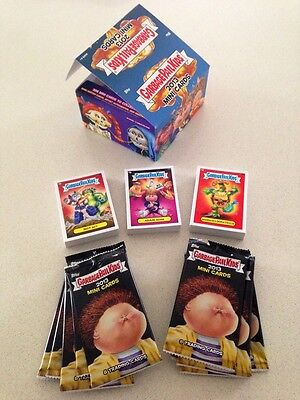 Garbage Pail Kids 2013 Mini Card Series Complete Set 396 Cards Box & Wrappers