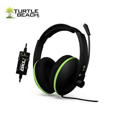 New Turtle Beach Ear Force DXL1 Black/Green Headset Xbox 360 - Missing DSS2 DSP