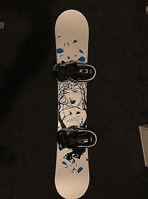 Nitro 153 Snowboard With Raiden Bindings *used Once, Excellent Condition*