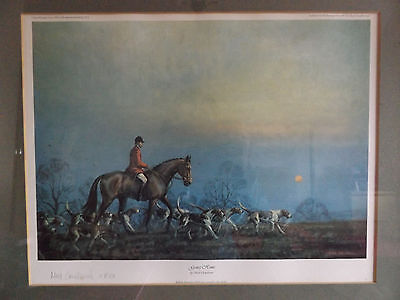 Vintage Neil Cawthorne Limited Edition Print Going Home Signed By Artist.