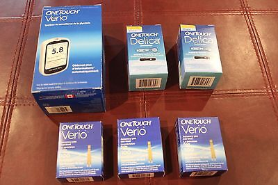 300 One Touch Verio Test Strips for Glucose Testing Comes with free lancets