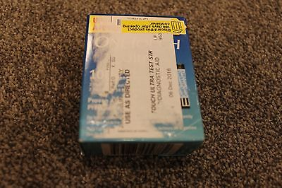 One Touch Ultra Pack of 100 sealed Test Strips for Glucose Testing