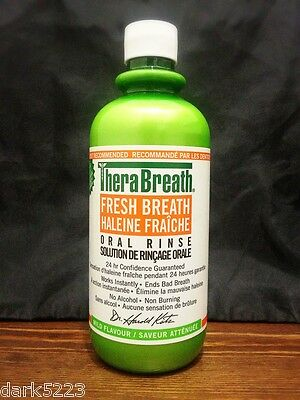 Dr. Katz TheraBreath Oral Rinse, Mild Flavour - 16 fL.Oz / 473 mL