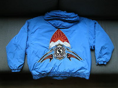 Bogner ski jacket - rare sky blue embroidered - mens size 8