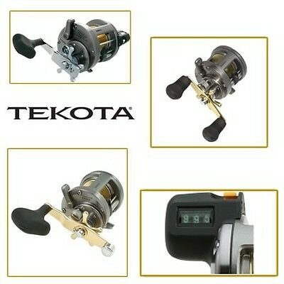 Shimano Tekota Line Counter Reels MODEL TEK600LC
