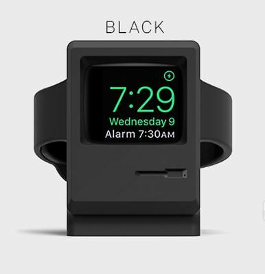 elago w3  Stand _ only for Apple Watch _ Classic Apple PC Design _BLACK