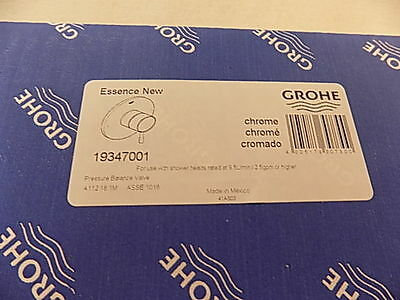 Grohe 19347001 Starlight Chrome Essence New Two Way Diverter Valve Trim