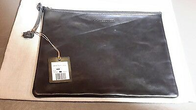 New Filson Large Leather Pouch - Brown ,by shingola detroit,