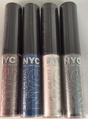 NYC SPARKLE EYE DUST Loose Powder EYESHADOW *YOU CHOOSE*~COMBINED SHIPPING~