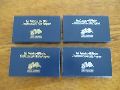 Set of 2006 San Francisco Commemmorative $5 Gold & Silver Dollars  BU and Proof!