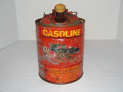 Vintage Rare One Gallon Gas Can