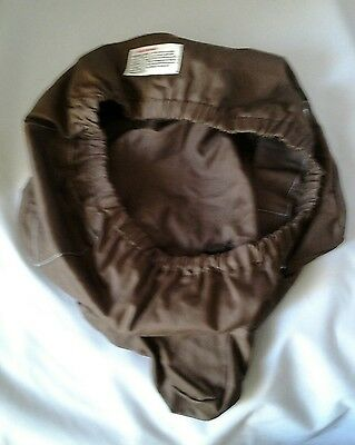 Infant Baby Bumbo Seat Cushion Cover Brown Replacement m