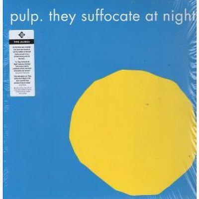 """PULP They Suffocate At Night 12"""" VINYL UK Fire 2015 Rsd 15 Release 2 Track"""