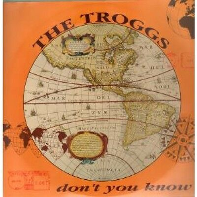 """TROGGS Don't You Know 12"""" VINYL UK Page One 1992 2 Track B/W Nowh"""