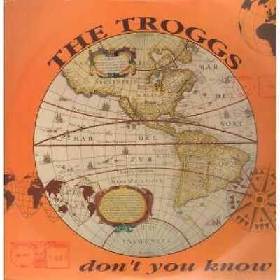 """TROGGS Don't You Know 12"""" VINYL UK Essential 1992 2 Track B/W Nowhwere Road"""