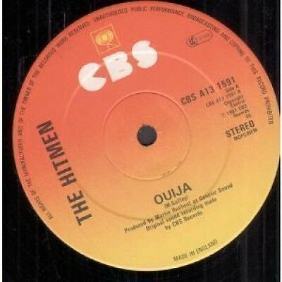 "HITMEN Ouija 12"" VINYL UK Cbs 1981 2 Track B/W Shade In Fade Out (Cbsa131591)"