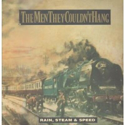 """MEN THEY COULDN'T HANG Rain,Steam And Speed 12"""" VINYL European Silvertone 1989"""