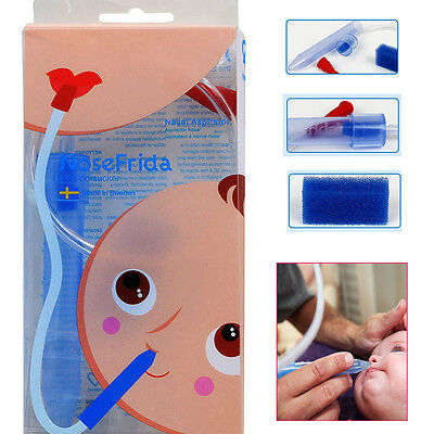 NoseFrida The Snotsucker Nasal Aspirator With 20 Filters New in Package