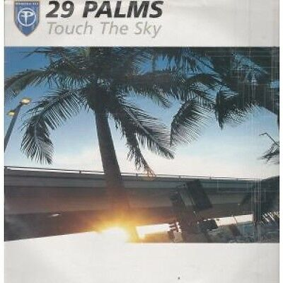 """29 PALMS Touch The Sky DOUBLE 12"""" VINYL European Perfecto 2002 4 Track Vocal"""