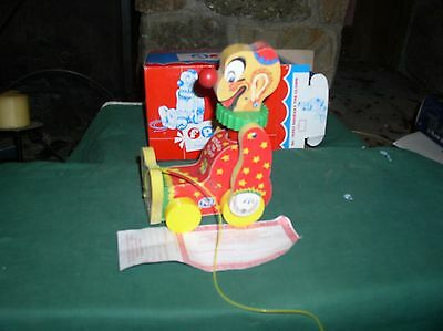 1995 FISHER PRICE 9th TOYFEST Squeaky The Clown MIB