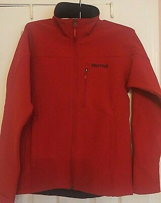 NWT Marmot's Men's  Altitude Soft Shell Jacket SMALL RED MSRP: $125