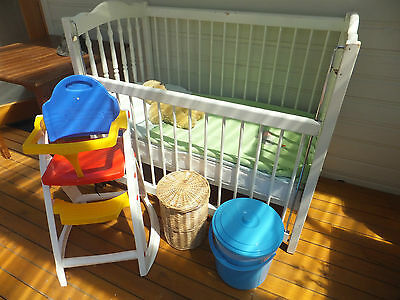 Toy bundle including cot and child's seats