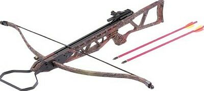 """Camo Youth Hunting Or Target Crossbow 120LBS Full Stock 31"""" MK120A1C"""