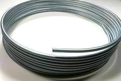 """25 Foot Roll / Coil of  3/8"""" Steel Fuel Line Tubing"""