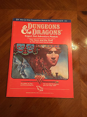 D&D - O1 The Gem And The Staff - Dungeons And Dragons - TSR - 9050