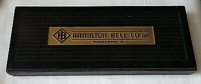 Vintage Hamilton Bell Co. Dissecting Kit, Scissors Eyedropper Scalpel Tweezers