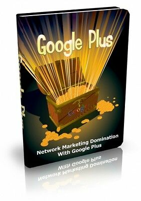 Google Plus PDF eBook with Resale rights!