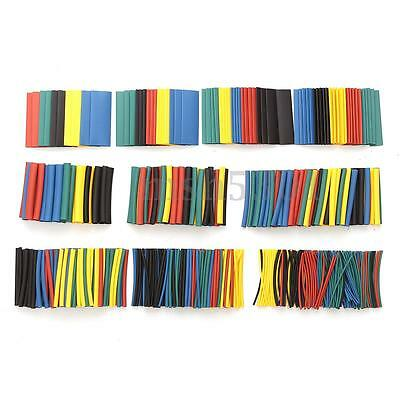 520Pcs Assorted Heat Shrink Tubing 2:1 Car Electrical Wire Cable Sleeve Wrap Kit