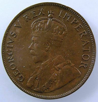 SOUTH AFRICA. 1926 Penny, King George V, Very Fine. KM-14.2.