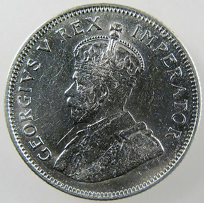 SOUTH AFRICA. 1936  George V Silver Shilling. Uncirculated. KM-17.3