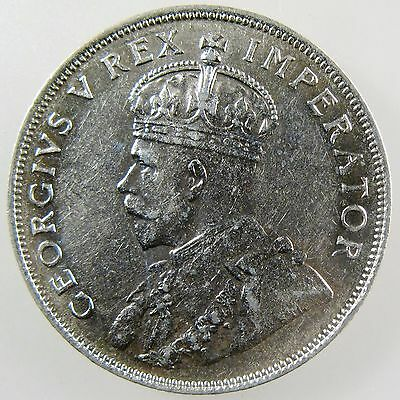 SOUTH AFRICA. 1932 George V Silver 2 Shillings. Nice AU KM-22