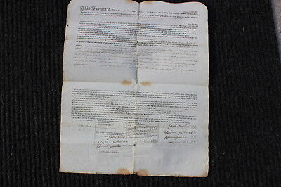 1817 document signed- early settlers Hempfield Twp,Lancaster Co,PA