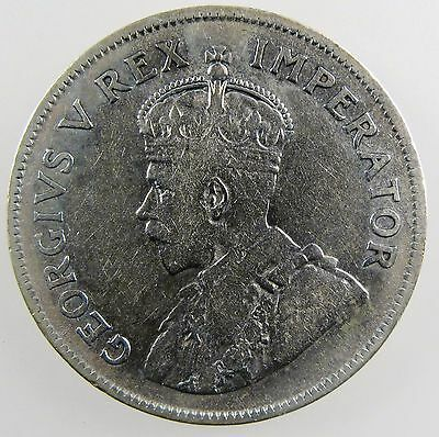 SOUTH AFRICA. 1930 George V Silver 2 1/2 Shillings. VF KM-19.2.