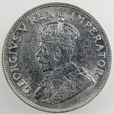 SOUTH AFRICA. 1932 George V Silver 2 1/2 Shillings, Extremely Fine. KM-19.3.